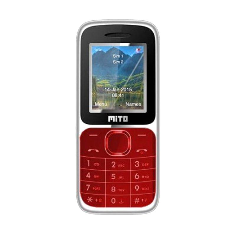 Mito 112 Basic Merah Handphone