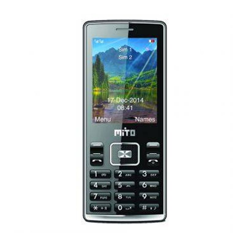 Mito 117 Hitam Handphone