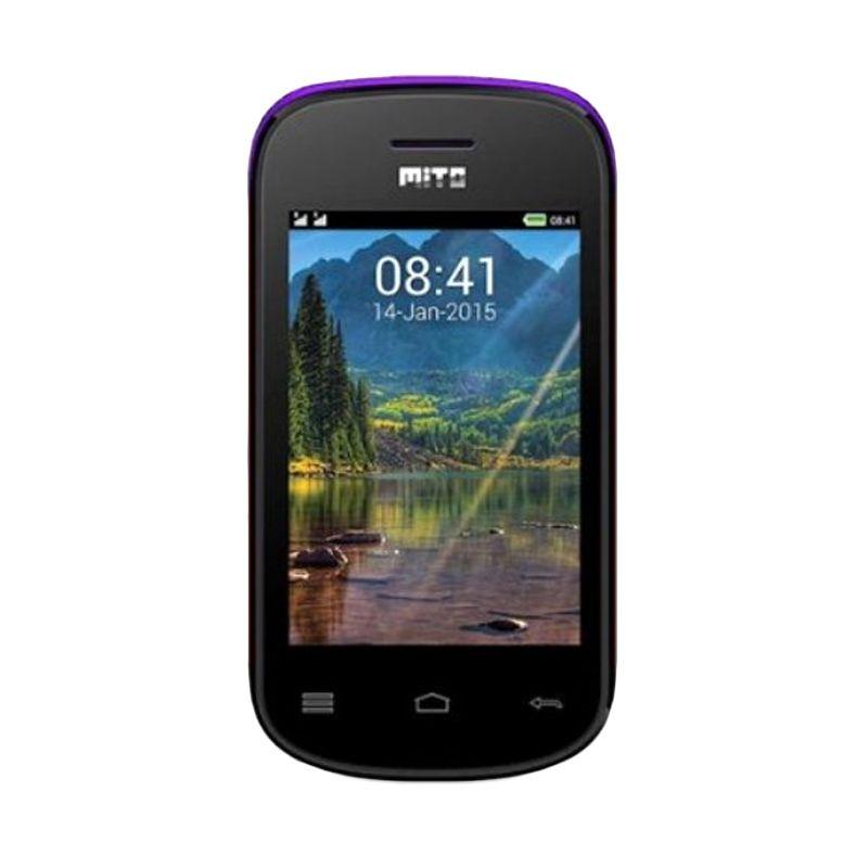 Mito 313 Purple Handphone [Dual Sim]