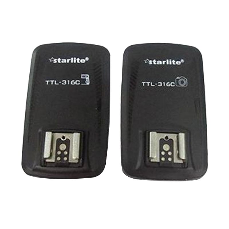 Starlite TTL-316C Hitam Trigger Aksesoris Kamera