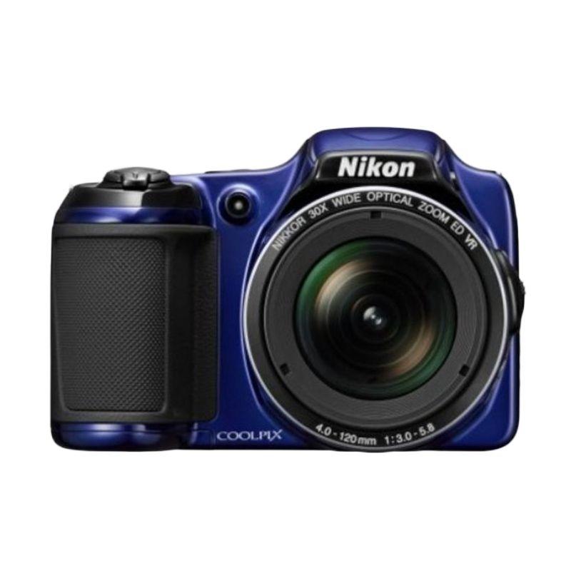 Nikon Coolpix L820 Biru Kamera Pocket