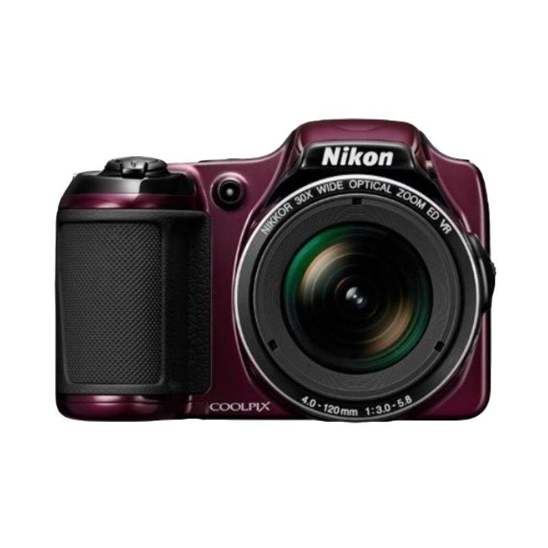 Nikon Coolpix L820 Plum Kamera Pocket