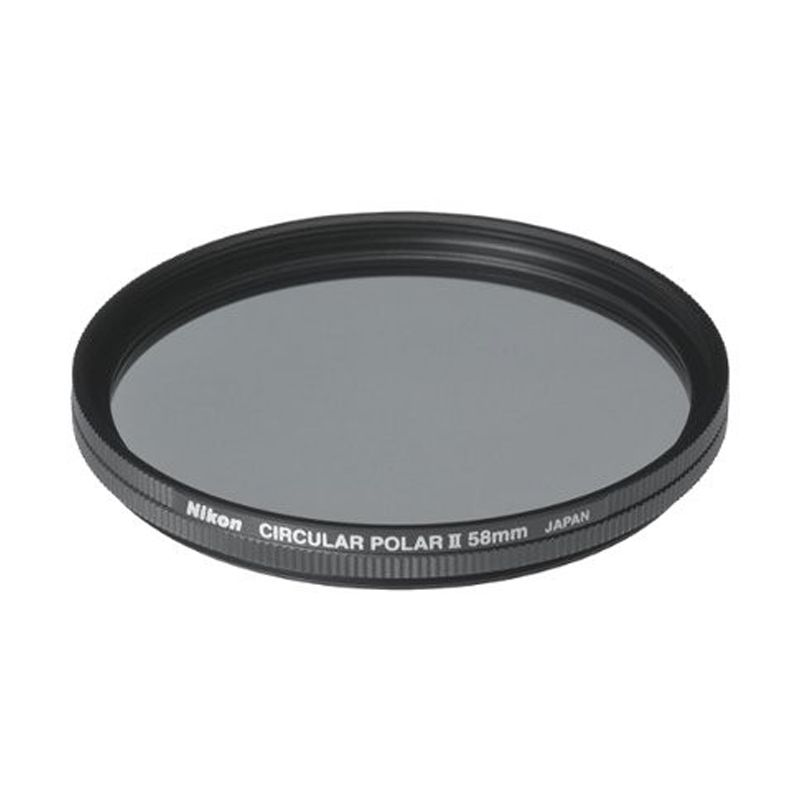 Nikon Circular Polarizer 58mm Filter Lensa