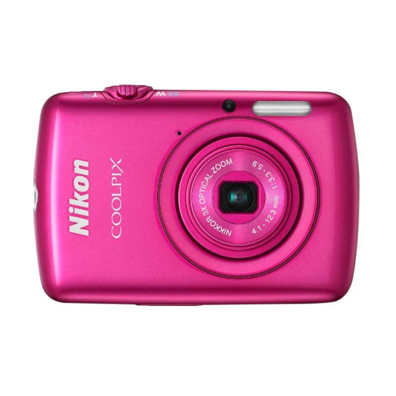 Nikon Coolpix S01 NI Pink Kamera Pocket