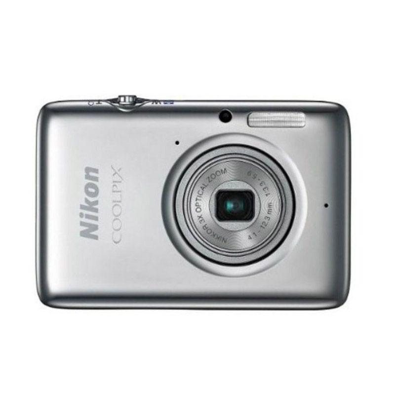 Nikon Coolpix S02 NI Putih Kamera Pocket