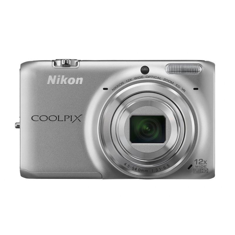 Nikon Coolpix S6500 Wifi Silver Kamera Pocket