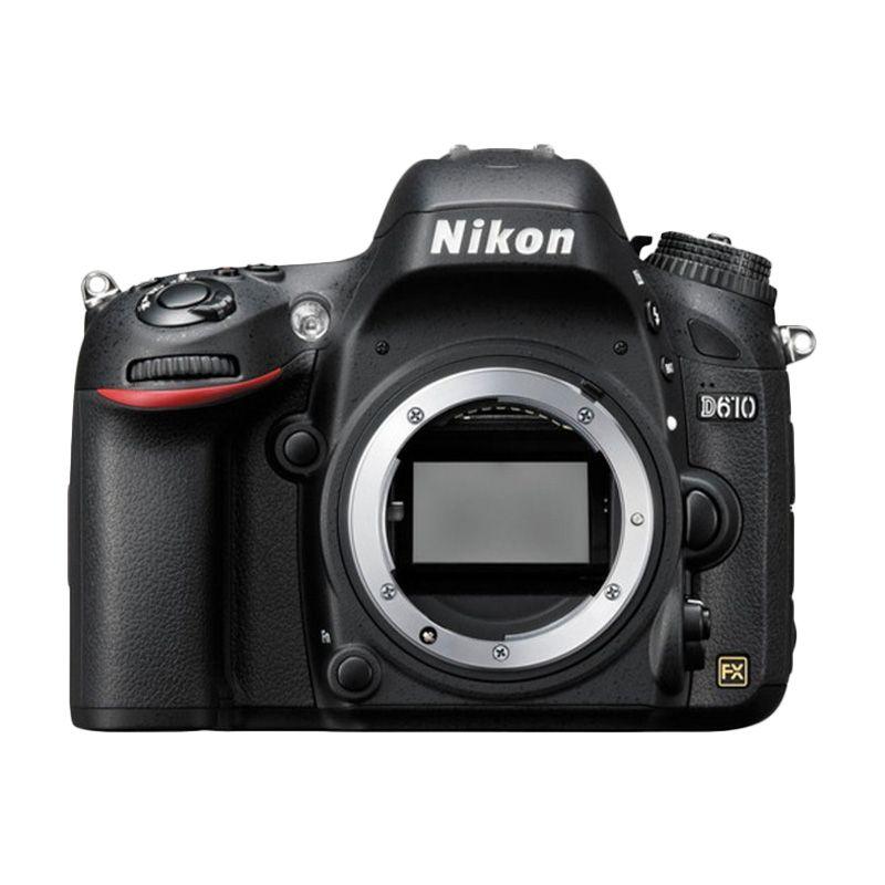 Nikon D610 Body Only Hitam Kamera DSLR