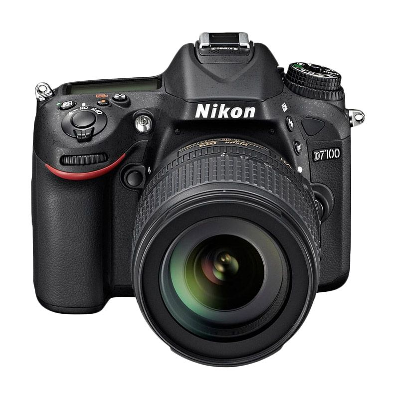 Nikon D7100 Kit 18-105mm VR Hitam Kamera DSLR