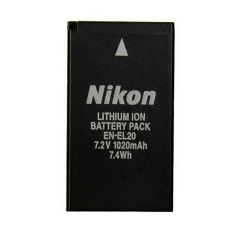 Nikon EN-EL20 NI Hitam Baterai Kamera