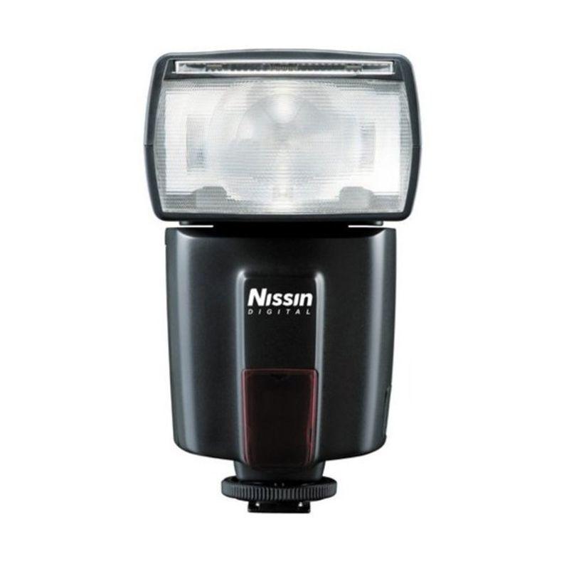 Nissin Di600 F Hitam Flash Kamera for Nikon