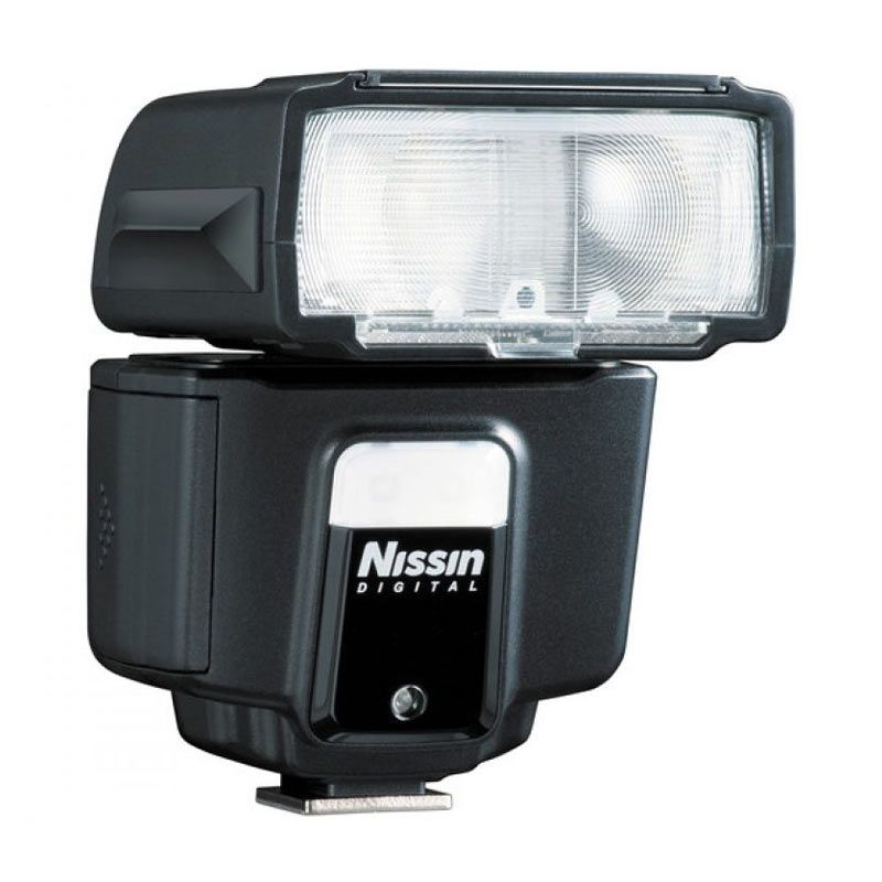Nissin i40 Hitam Flash For Nikon