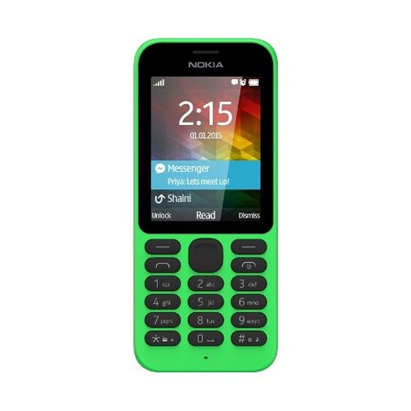 Nokia 215 Hijau Handphone