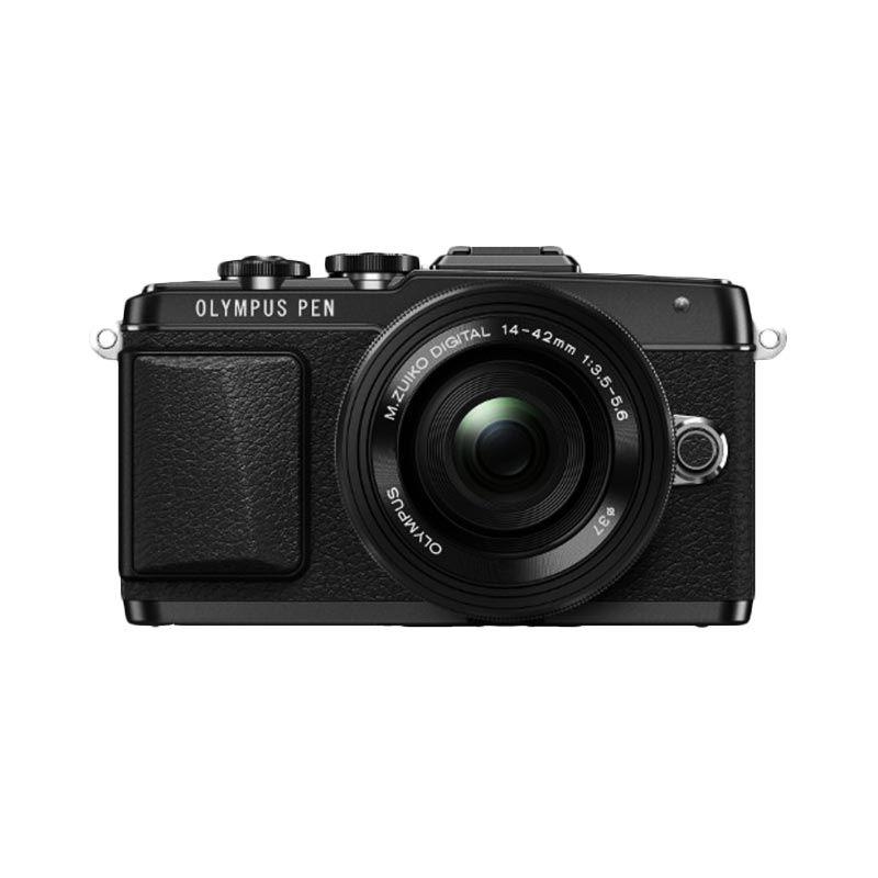 Olympus Pen E-PL7 14-42mm II R Hitam Kamera Mirrorless