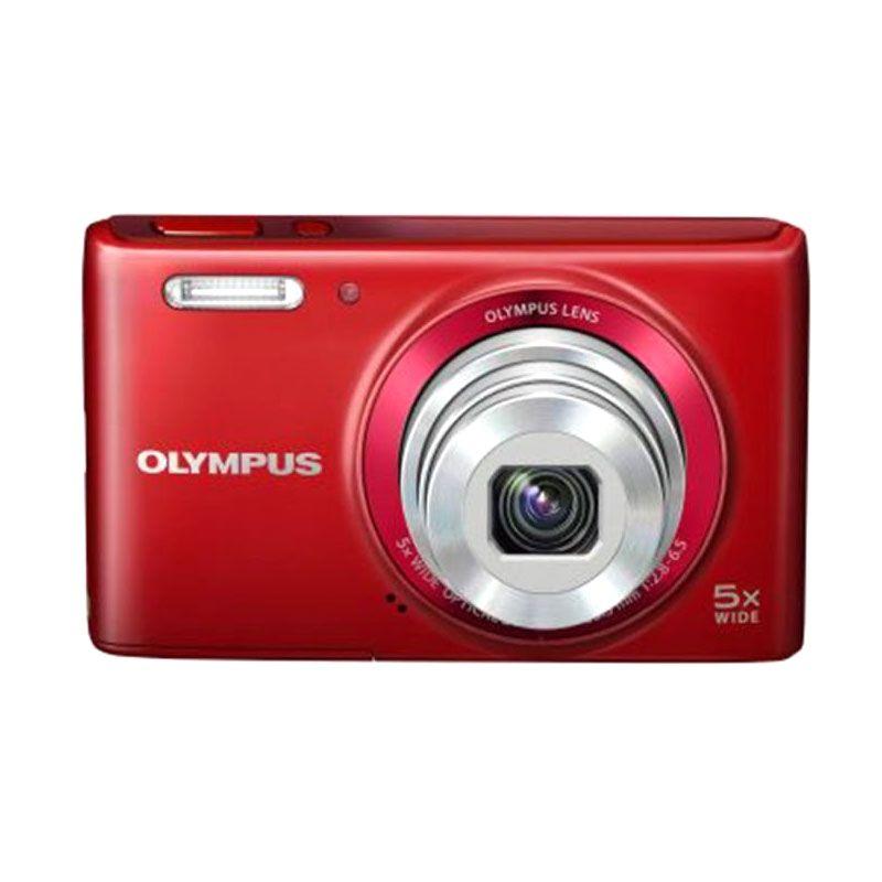 Olympus VG-180 Merah Kamera Pocket