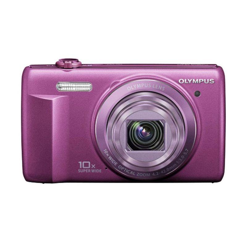 Olympus VR-350 Ungu Kamera Pocket