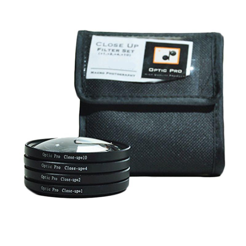 Optic Pro Close Up Kit 67mm Filter Lensa
