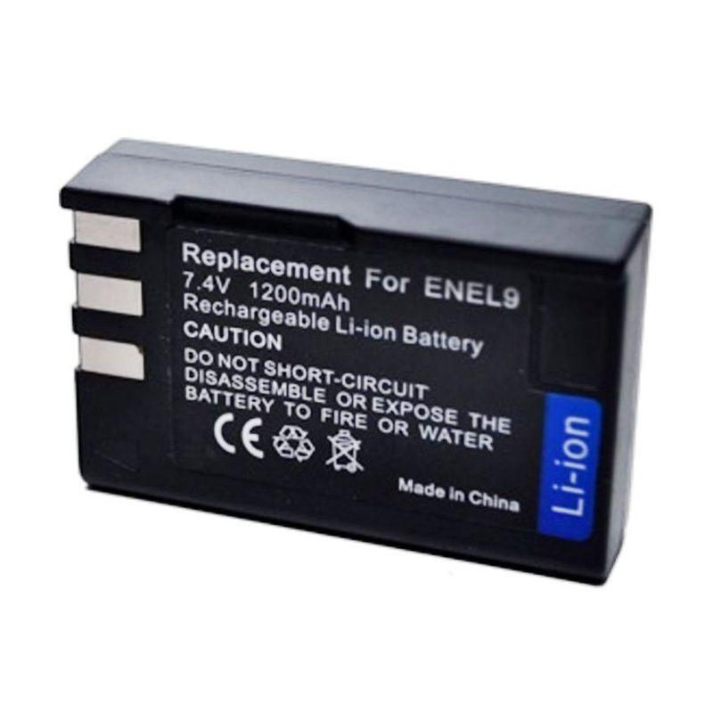 Optic Pro EN-EL9 Hitam Battery for Nikon