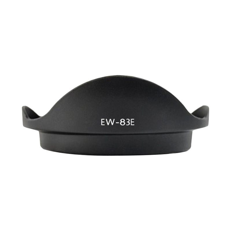Optic Pro EW-83E Hitam Lens Hood for Camera