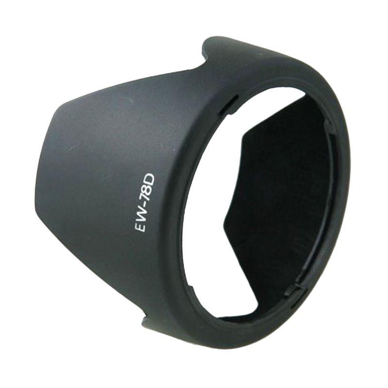 Optic Pro EW-78D Hitam Camera Lens Hood