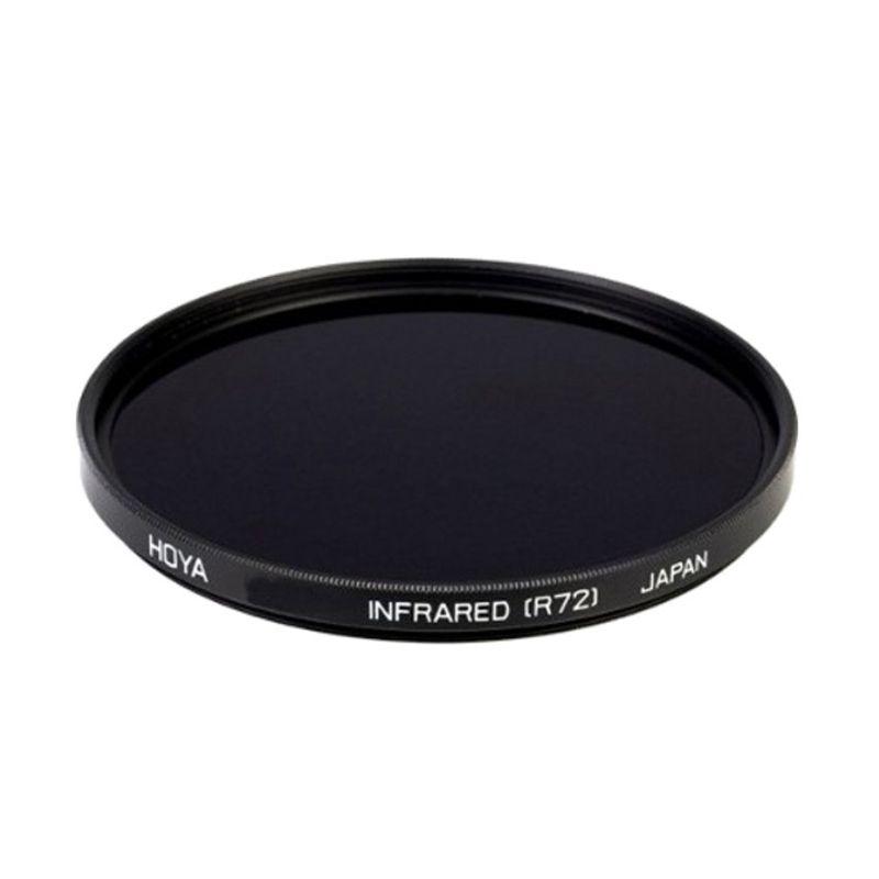 Optic Pro Infrared 58mm Hitam Filter Lensa Camera