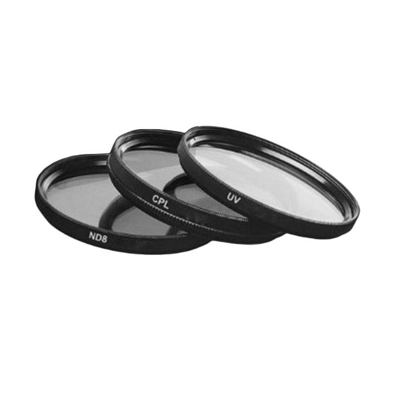 Optic Pro Kit Mod.2 Hitam Filter Lensa Kamera [62mm]