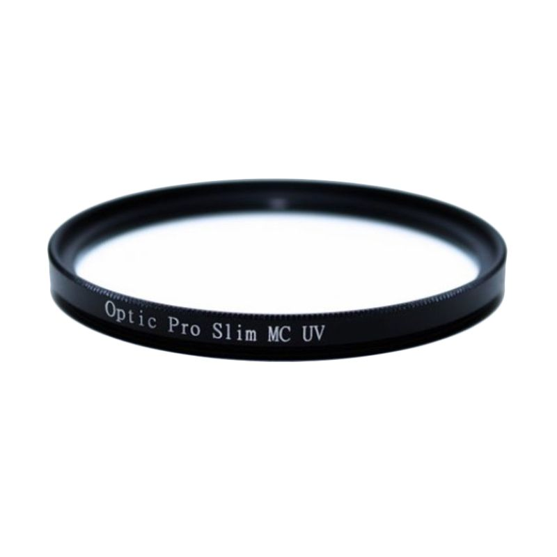 Optic Pro MC UV SlimPro 77mm Hitam Filter Lensa