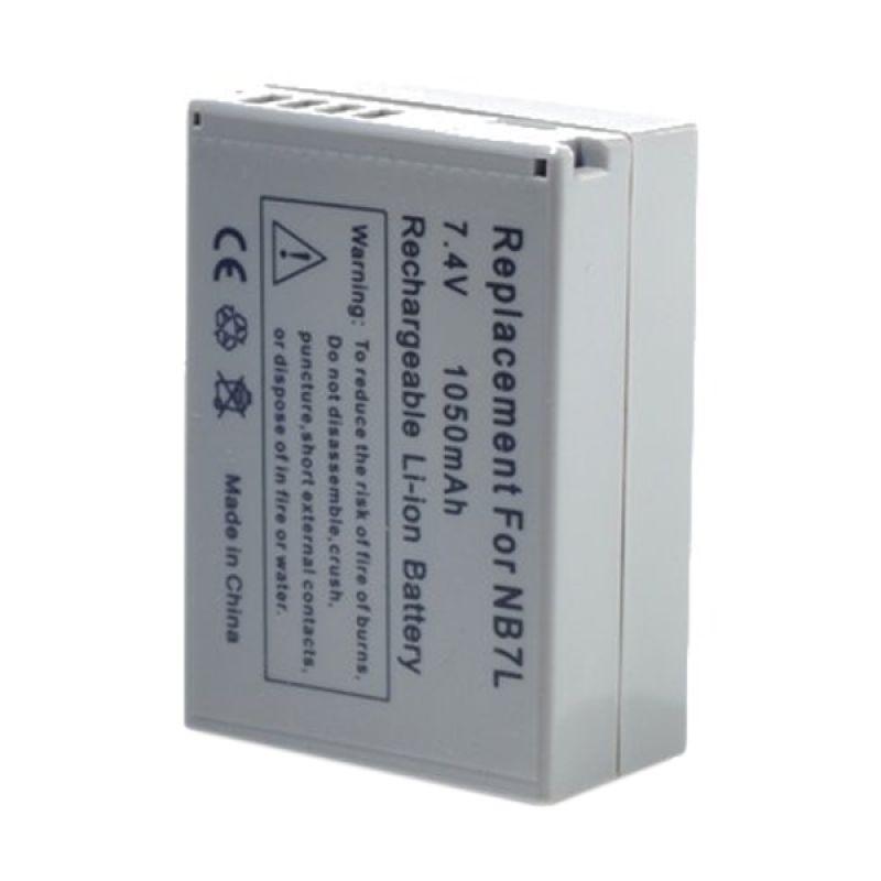 Optic Pro NB-7L Abu-abu Battery for Canon