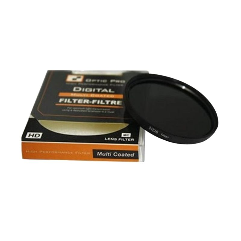 Optic Pro ND08 55mm Filter Lensa