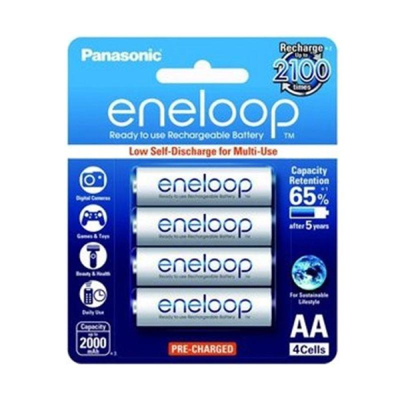 Panasonic Eneloop A2 Baterai Kamera [2000 mAh/4 Pcs]