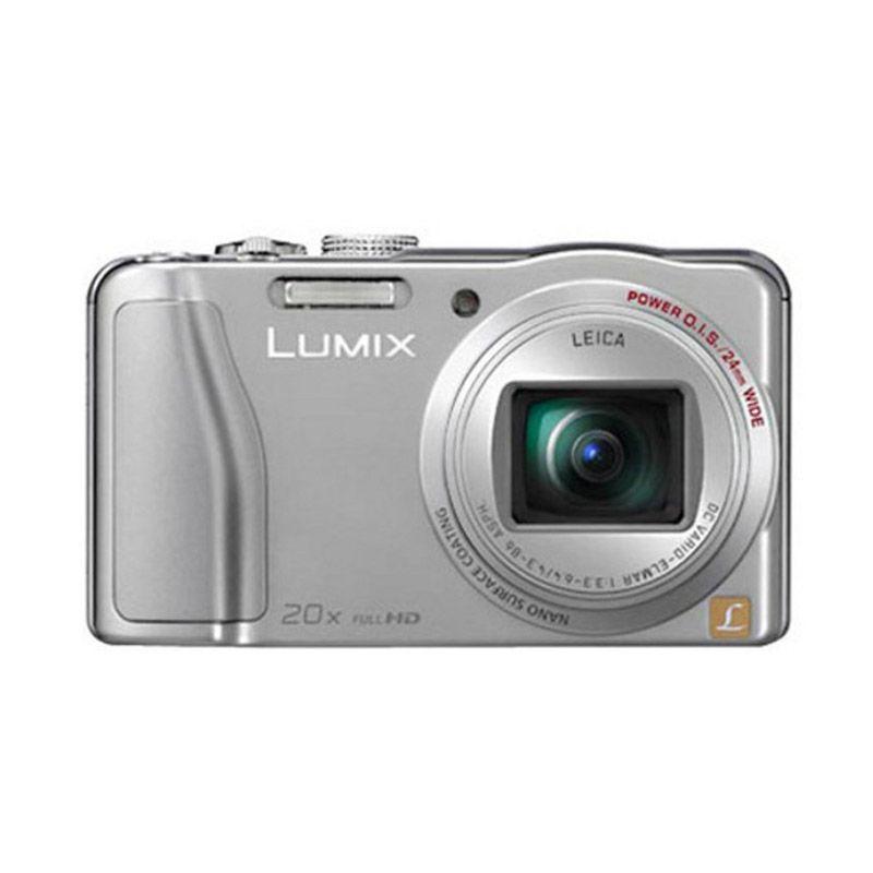 Panasonic Lumix DMC-TZ20 Silver Kamera Pocket