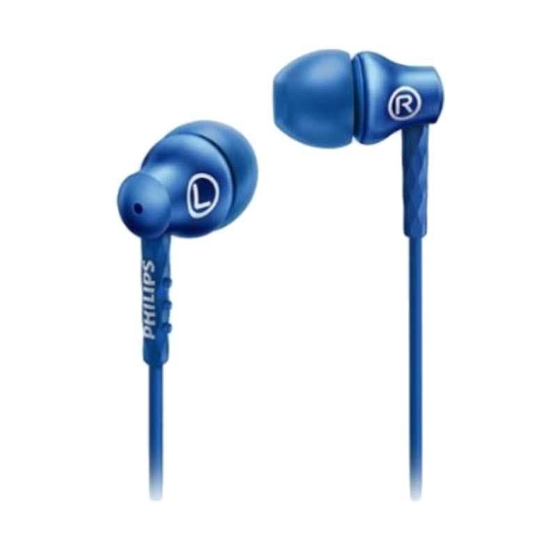 Philips SHE8105 Blue Headset