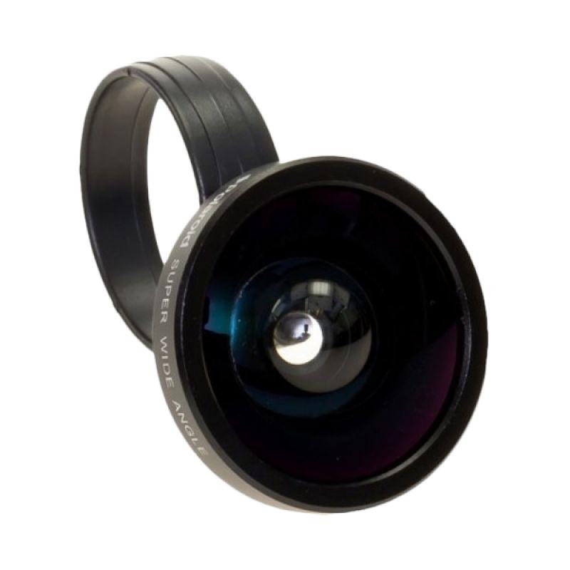 Polaroid CW 40 Super Wide Hitam Lensa