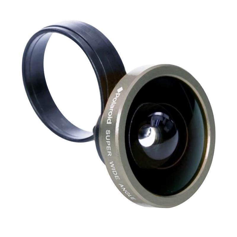 Polaroid CW 40 Super Wide Silver Lensa