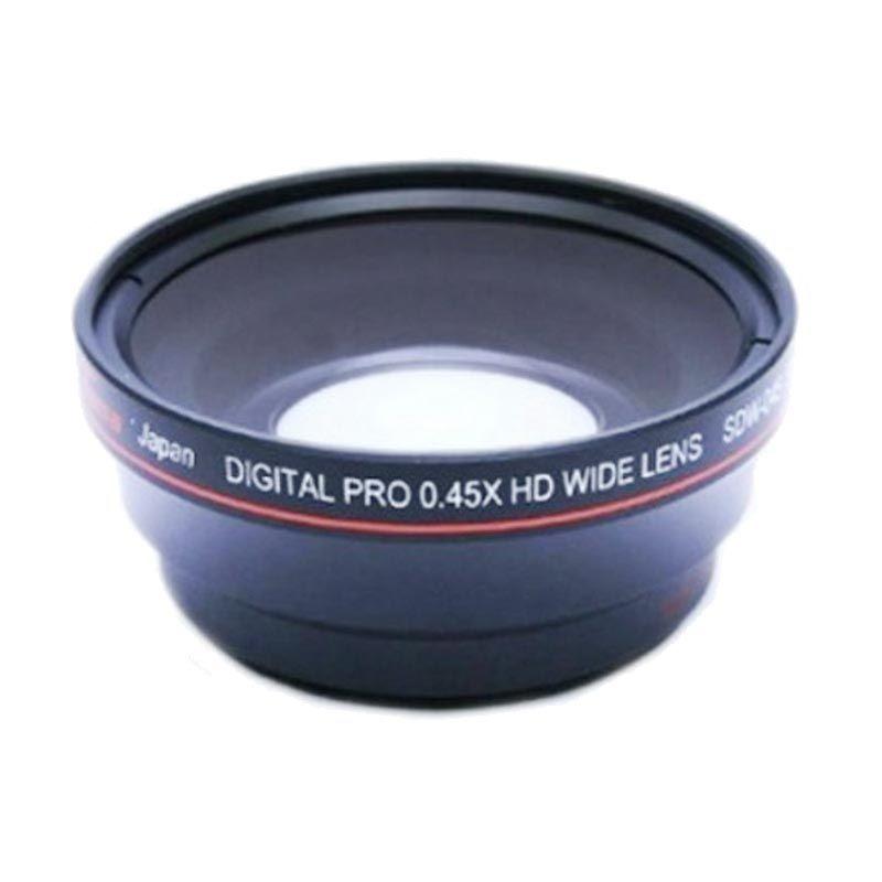 Protama SDW-045 0.45X/52MM Hitam Lensa Kamera