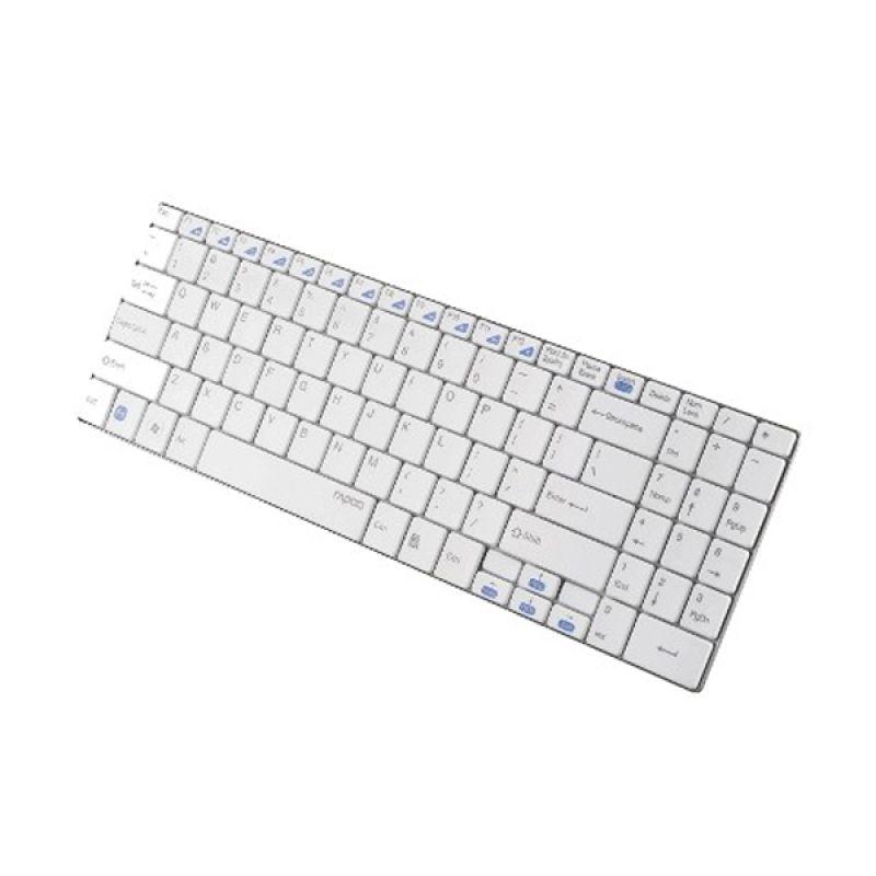 Rapoo E9070 Putih Wireless Keyboard