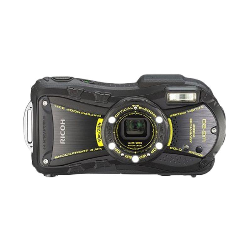 Ricoh WG 20 Hitam Kamera Pocket