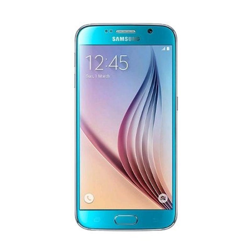 Samsung Galaxy S6 Biru Smartphone [32 GB]