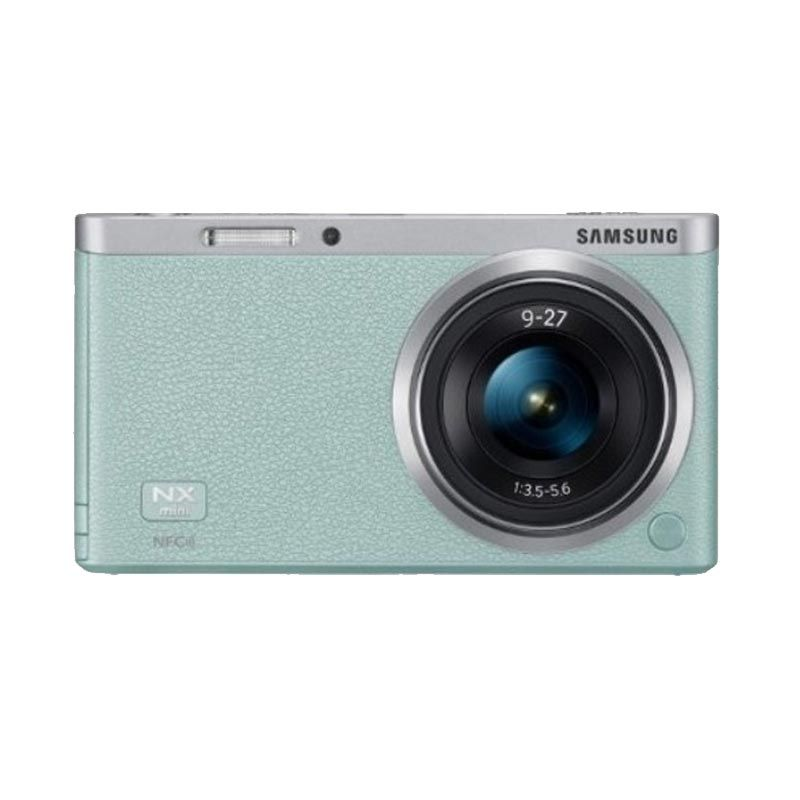 Samsung NXF1 Mini Kamera Mirrorless + 9-27mm Hijau Zoom Lens
