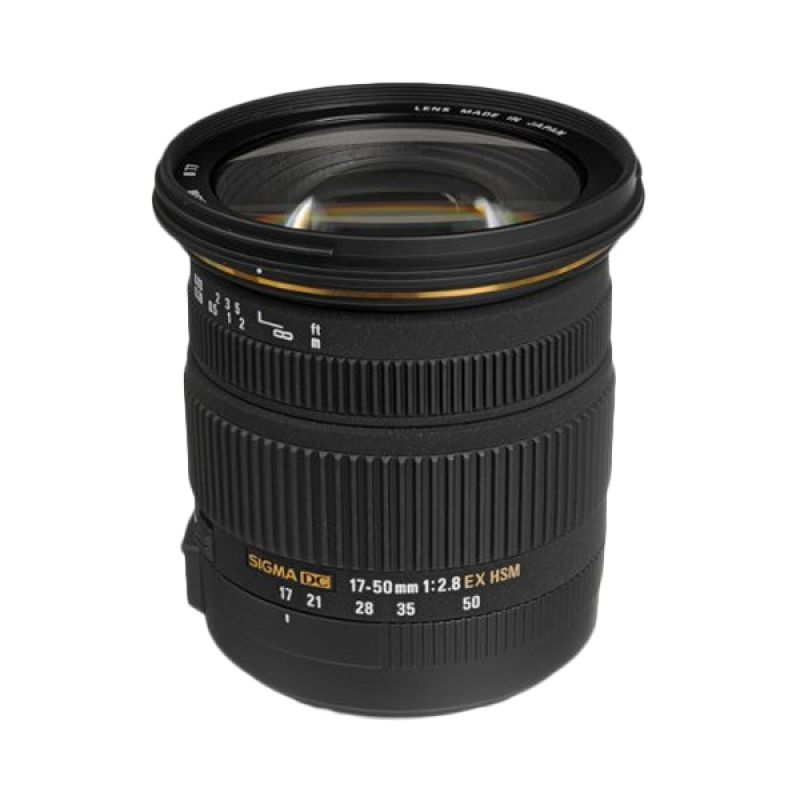 Sigma 17-50mm F2.8 EX DC OS Black Lens For Canon
