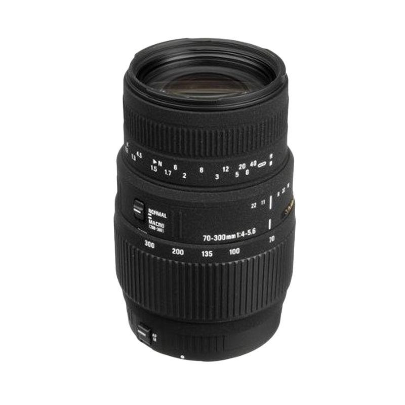 Sigma 70-300mm 4-5.6 DG Makro Lensa Kamera untuk Nikon