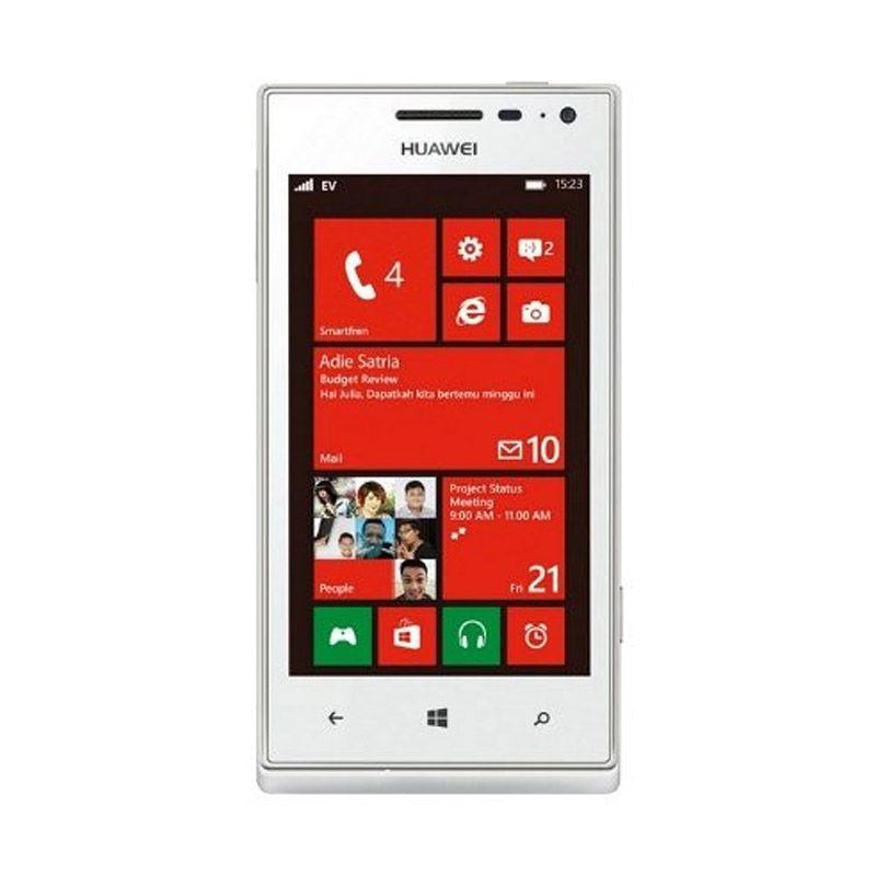 Smartfren Huawei Ascend W1 Putih Smartphone