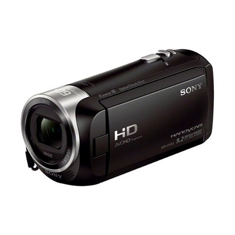 Sony HDR-CX405 Hitam Kamera Video