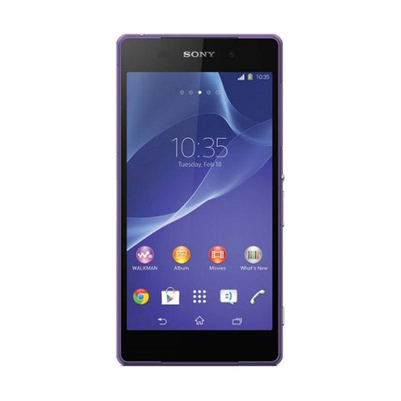 Sony Xperia Z2 D6503 Ungu Smartphone