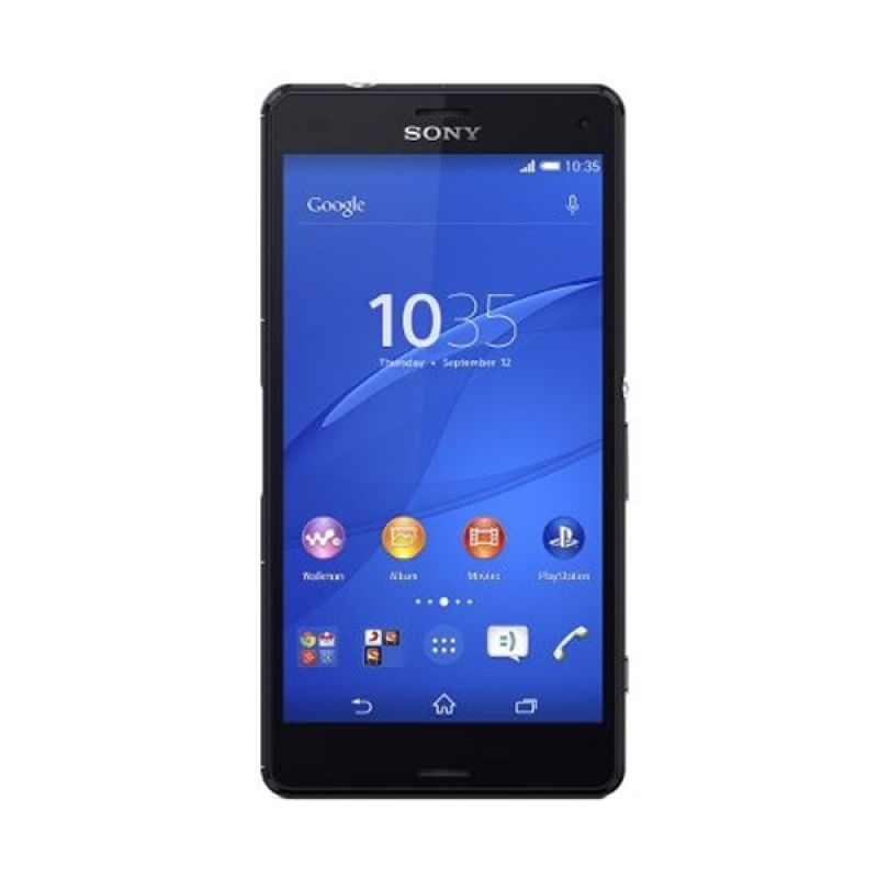 Sony Xperia Z3 Compact D5833 Hitam Smartphone [16 GB]
