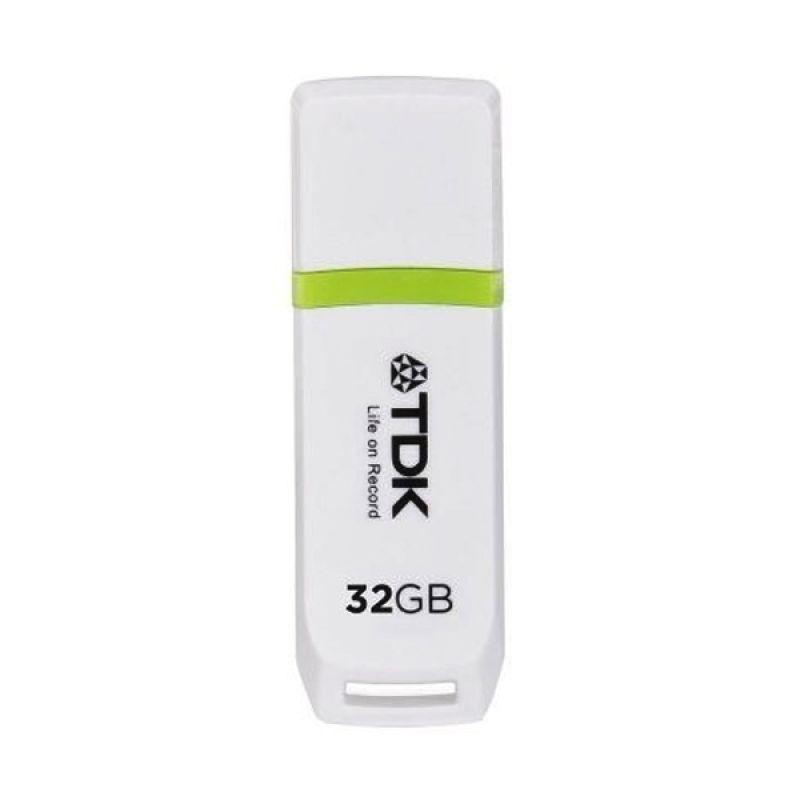 TDK TF010 Putih USB Flashdisk [32 GB]