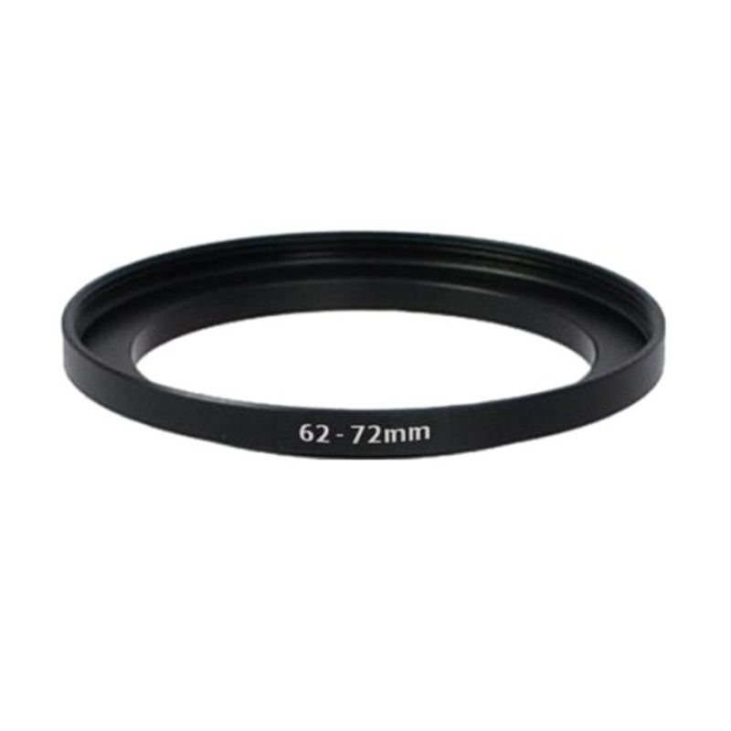 Tiffen 62-72mm Hitam Step Up Ring Aksesoris Kamera