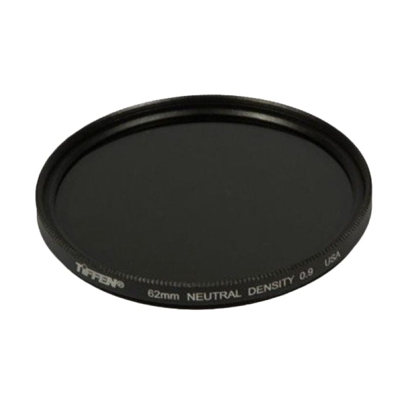 Tiffen ND9 Hitam Filter Lensa Kamera [62mm]