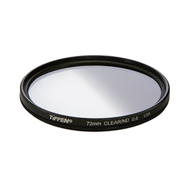 Tiffen 72mm Neutral Density 0.6 Hitam Filter Lensa Camera