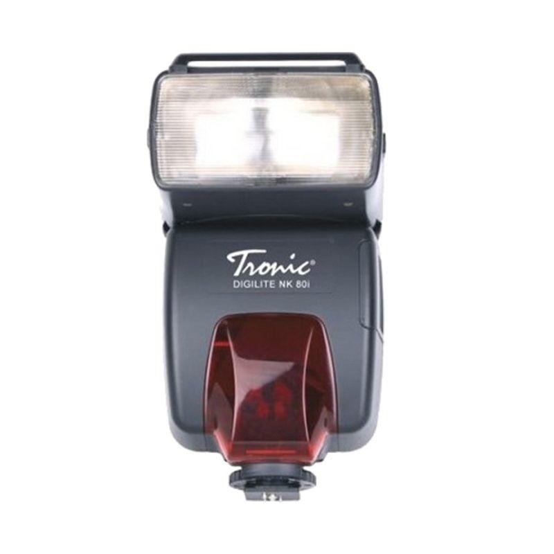 Tronic Digilite NK80i I-TTL Nikon Hitam Flash Kamera
