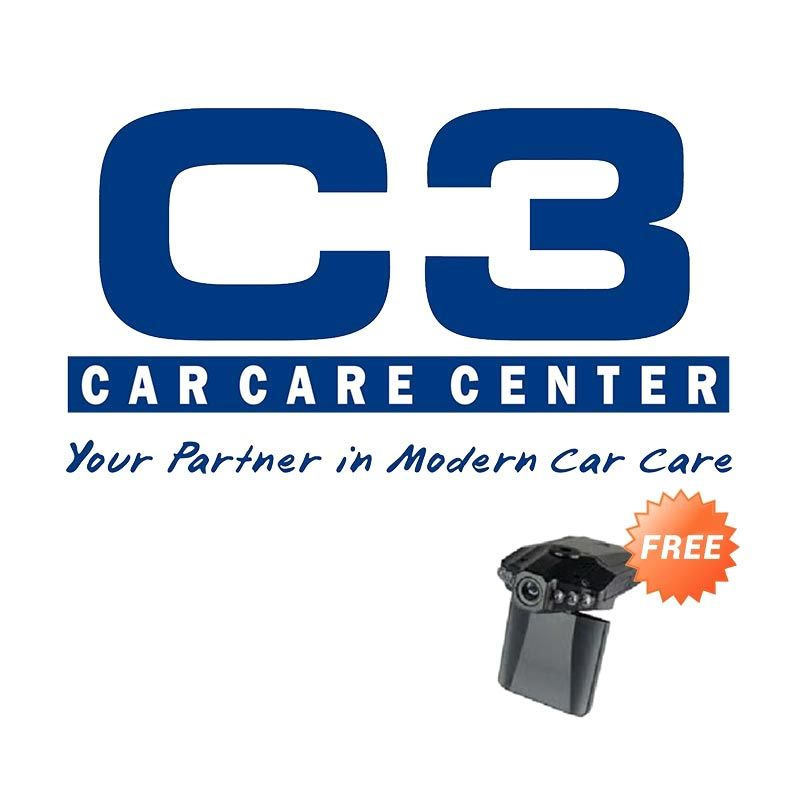 PROMO C3 Detailing Interior Exterior Extra Large Size Car [Get 1 FREE Camera CCTV mobil TC 207 HD Resolution]